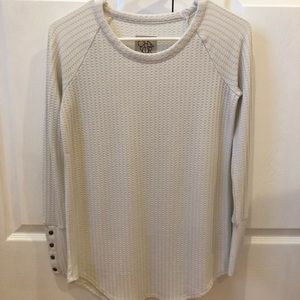 chaser long sleeve waffle thermal